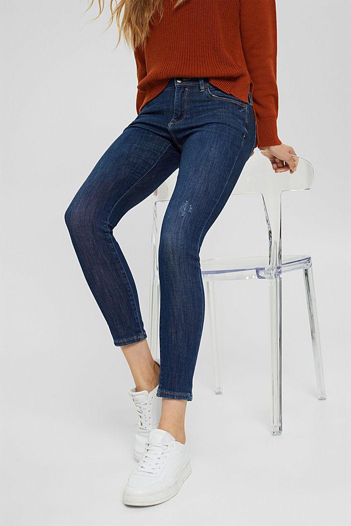 Jeans af økologisk bomuld med superstretch