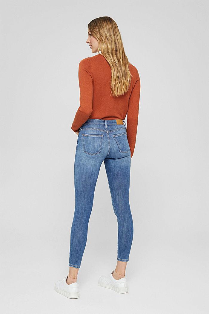 Jeans aus Bio-Baumwolle mit Superstretch, BLUE MEDIUM WASHED, detail image number 3