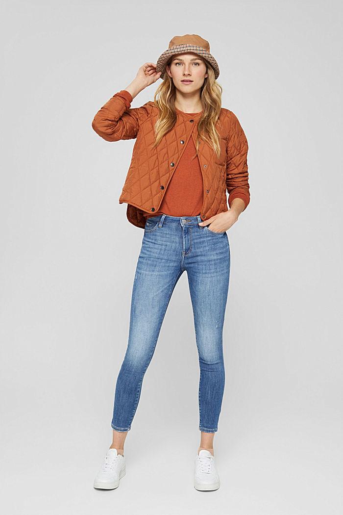 Jeans aus Bio-Baumwolle mit Superstretch, BLUE MEDIUM WASHED, detail image number 1