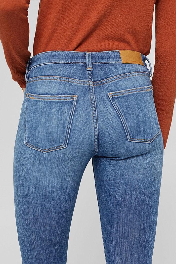 Jeans aus Bio-Baumwolle mit Superstretch, BLUE MEDIUM WASHED, detail image number 2