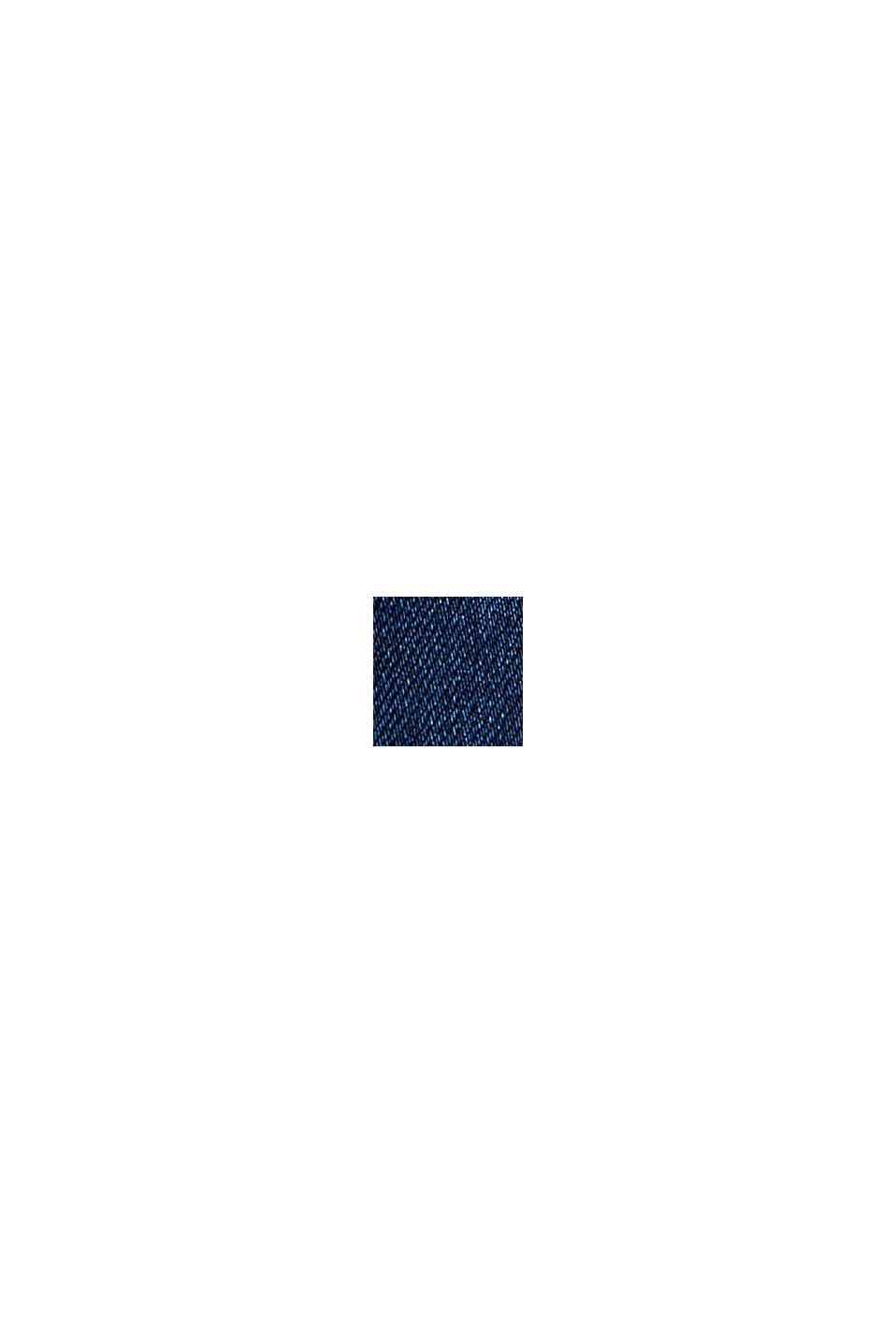 Jeans i jogger-stil af bomuldsblanding, BLUE DARK WASHED, swatch