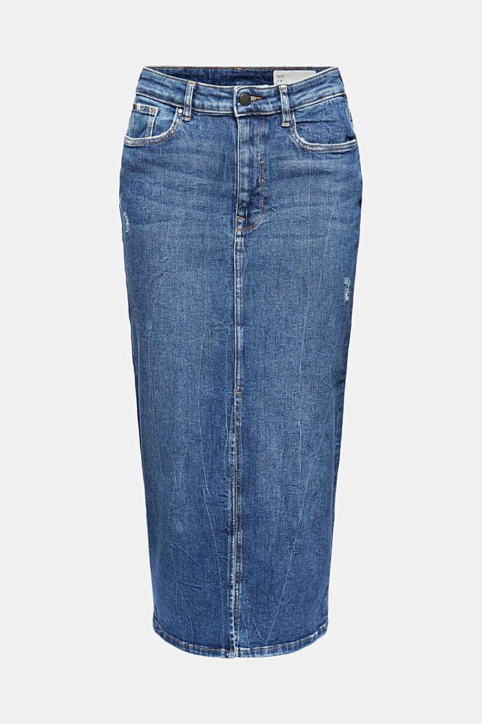 Skirts denim Straight Fit High Rise