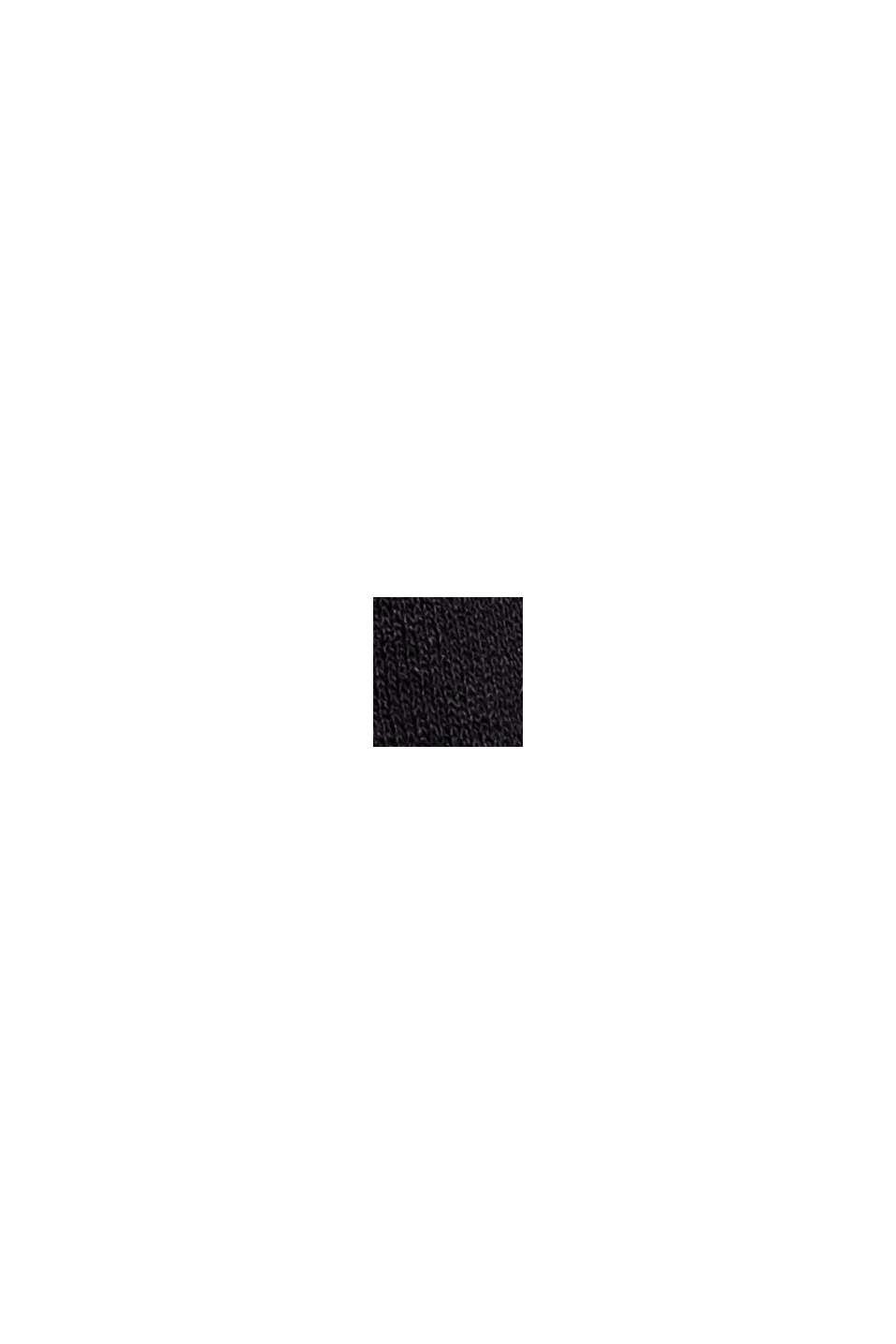 Jerseykleid mit Tasselbändern, LENZING™ ECOVERO™, BLACK, swatch