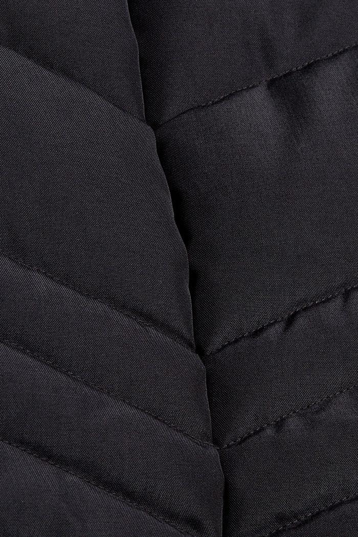 Recycelt: Steppjacke mit 3M™ Thinsulate™-Füllung, BLACK, detail image number 4