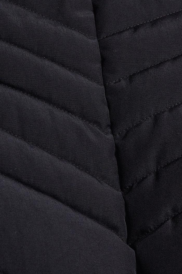 Recycelt: Steppmantel mit 3M™ Thinsulate™-Füllung, BLACK, detail image number 4