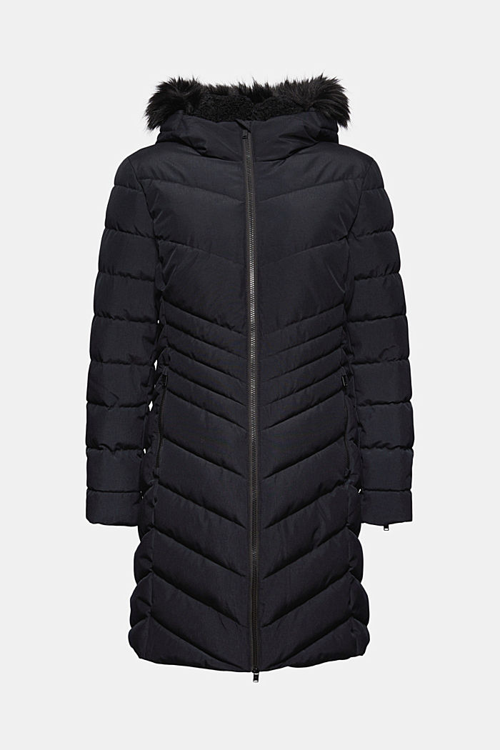 Recycled: Quilted coat with 3M™ Thinsulate™ filling