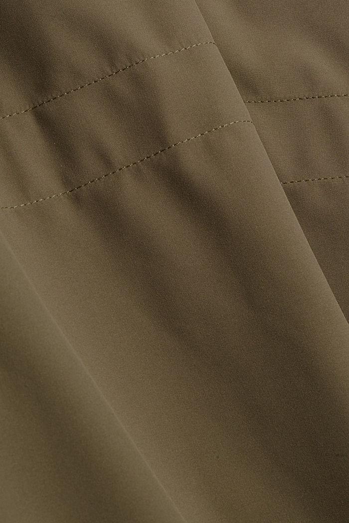 2-in-1 rain coat with a detachable jacket, DARK KHAKI, detail image number 4