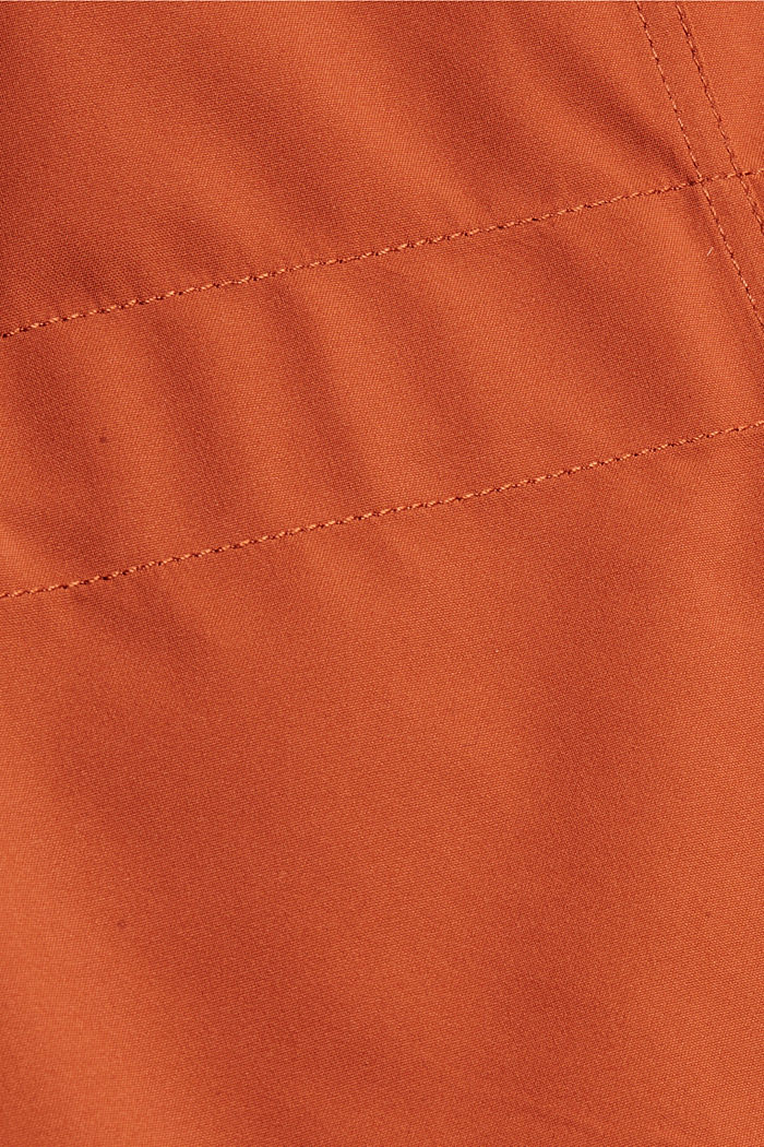 2in1 Regenmantel mit heraustrennbarer Jacke, RUST ORANGE, detail image number 4