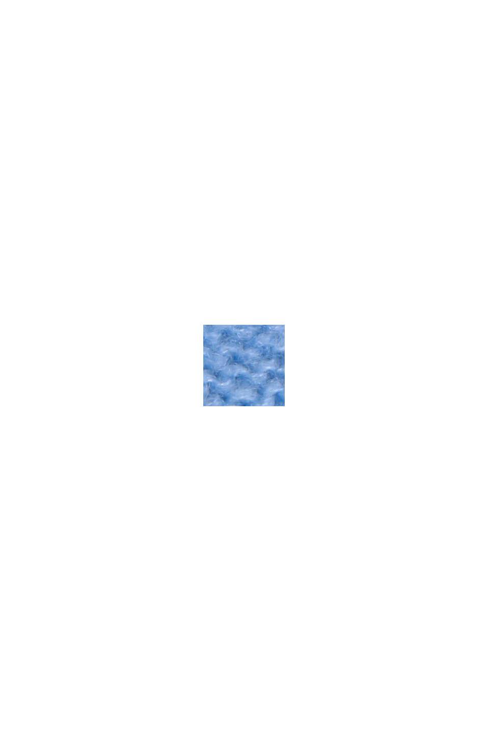 Met wol: trui met inside-out-naden, BRIGHT BLUE, swatch