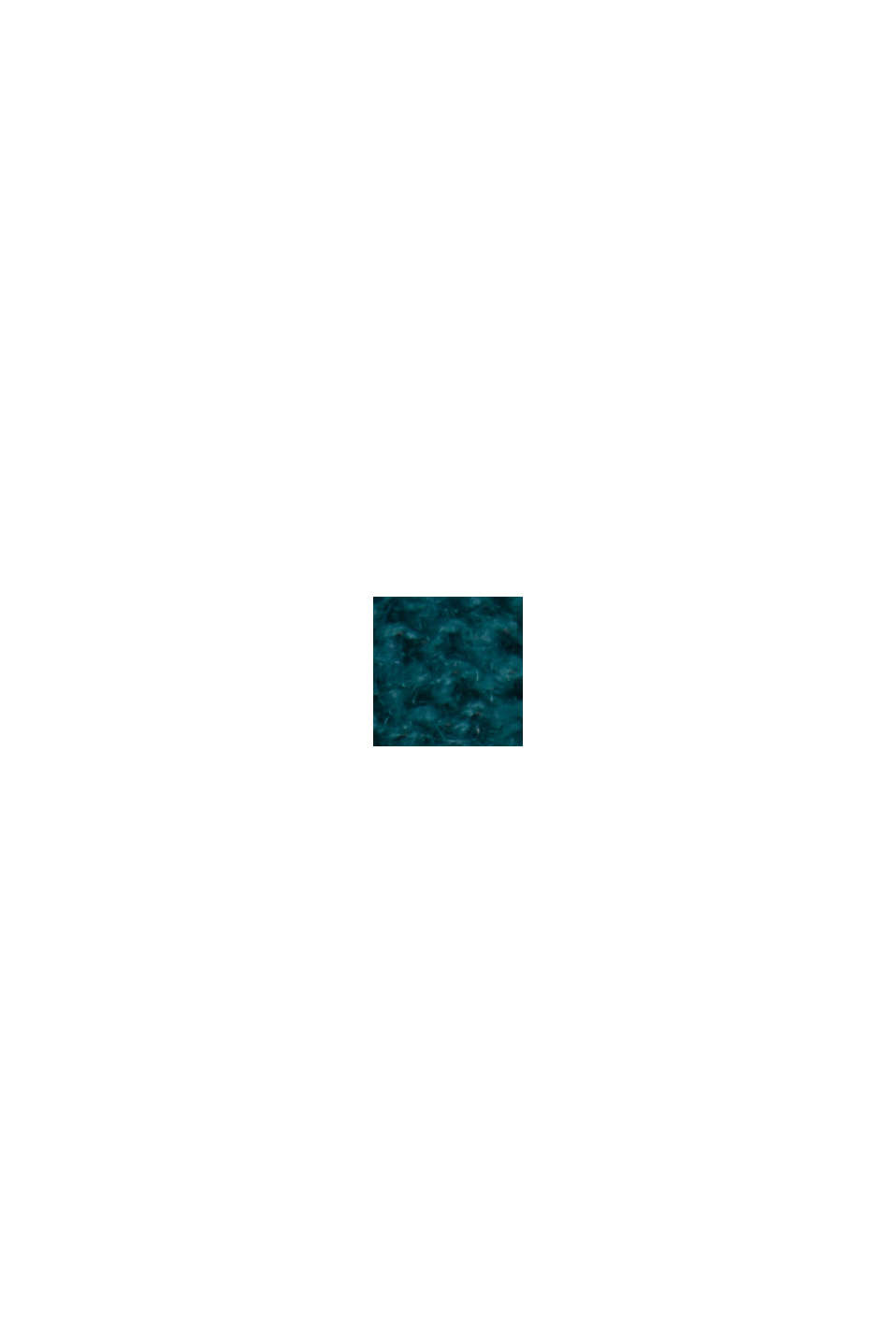 Con lana: cárdigan con costuras del revés, EMERALD GREEN, swatch