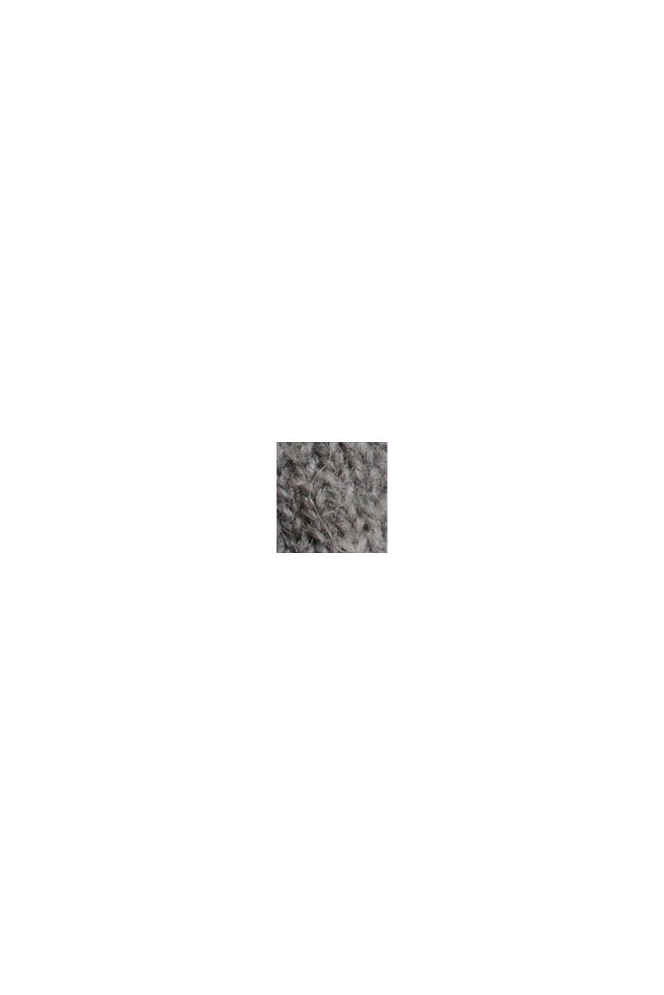 À teneur en laine: le pull-over à coutures inversées, MEDIUM GREY, swatch