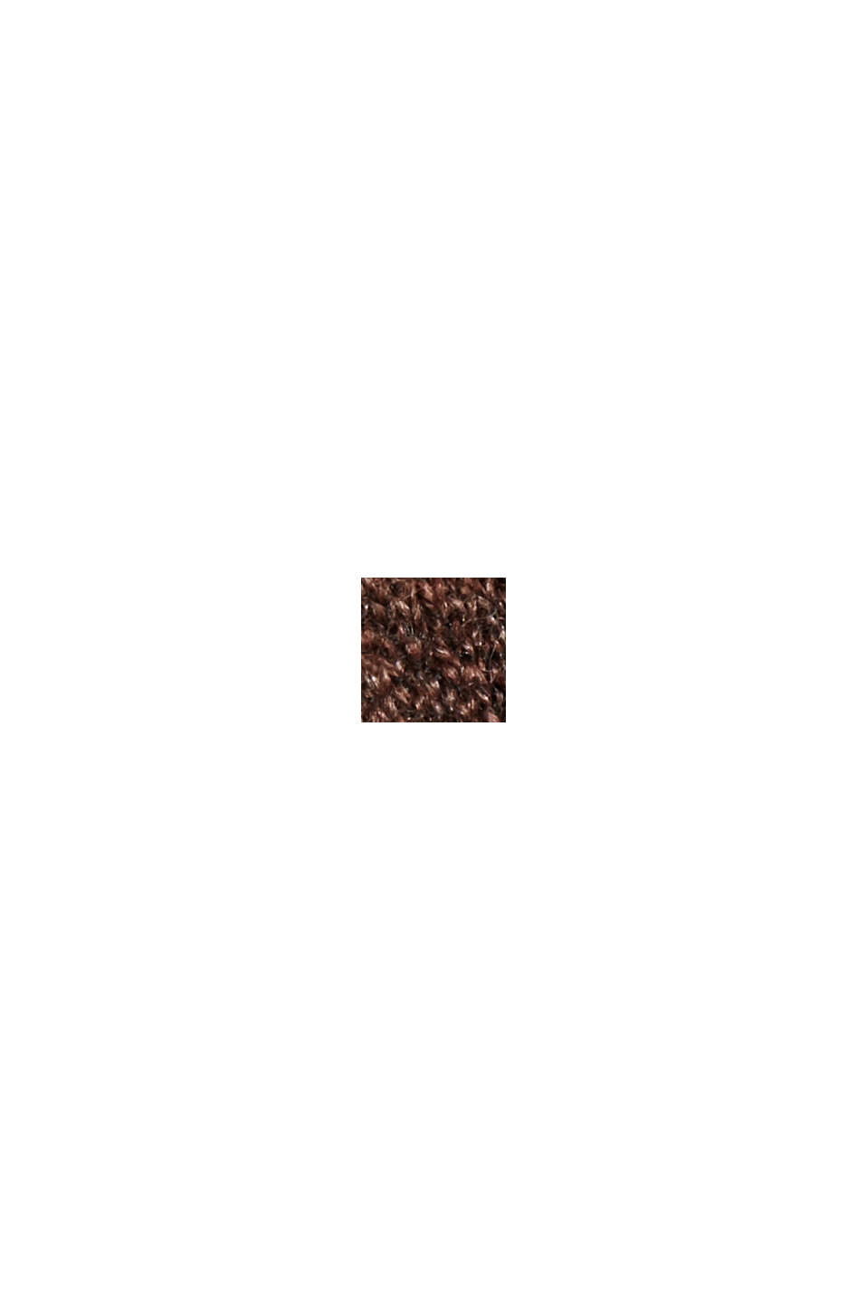 À teneur en laine: le pull-over à coutures inversées, BROWN, swatch