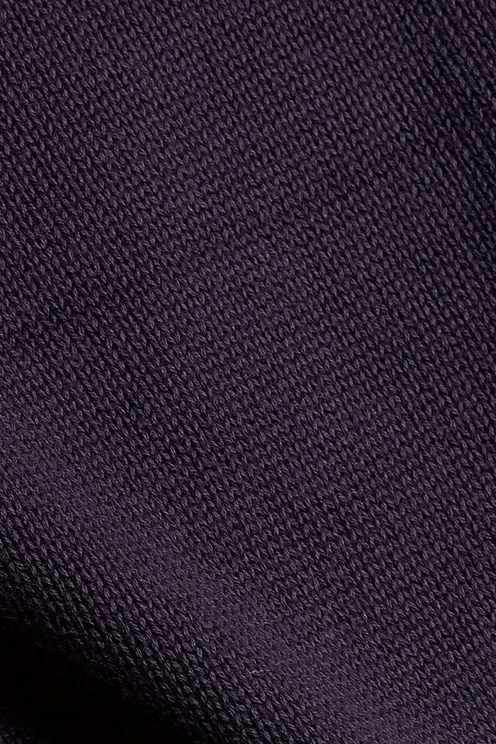 Pullover mit Stickerei, Organic Cotton, NAVY, detail image number 4
