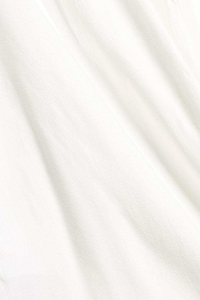 Sweatshirt mit betonten Schultern, OFF WHITE, detail image number 4