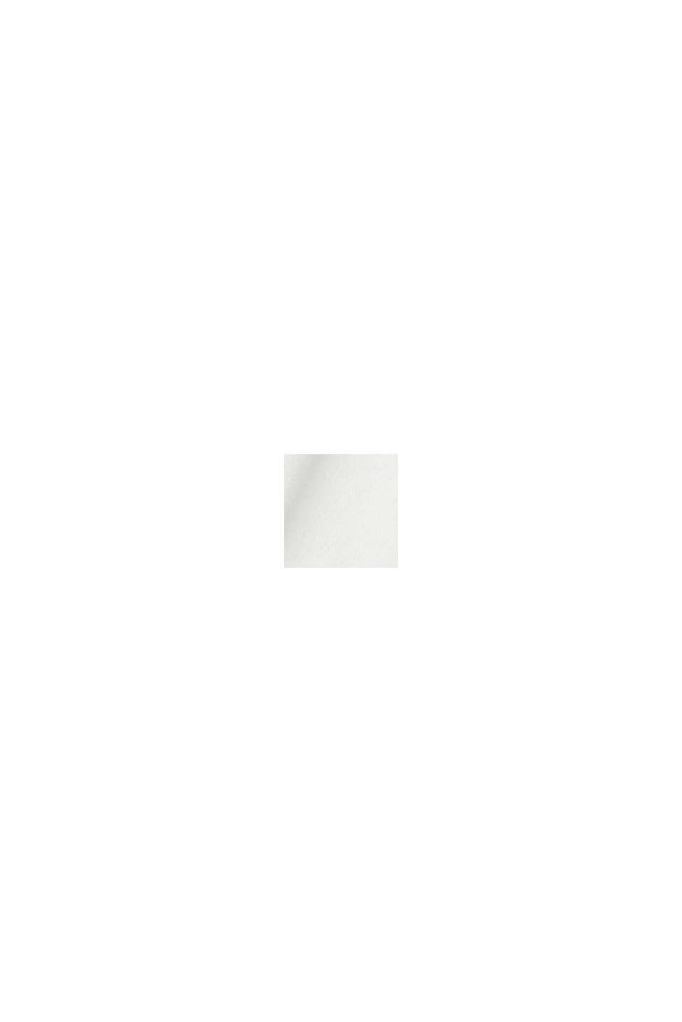 Mikina s nápisem, 100% bio bavlna, OFF WHITE, swatch