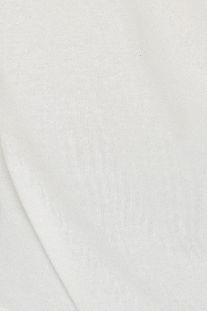 T-shirt with paisley print, 100% organic cotton, OFF WHITE, detail image number 4