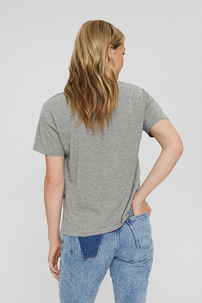 T-Shirts Relaxed short sleeve, MEDIUM GREY, detail image number 3