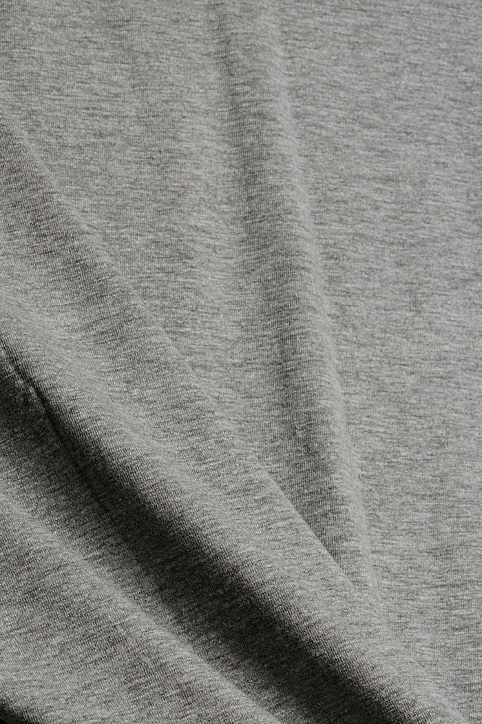 T-Shirts Relaxed short sleeve, MEDIUM GREY, detail image number 4