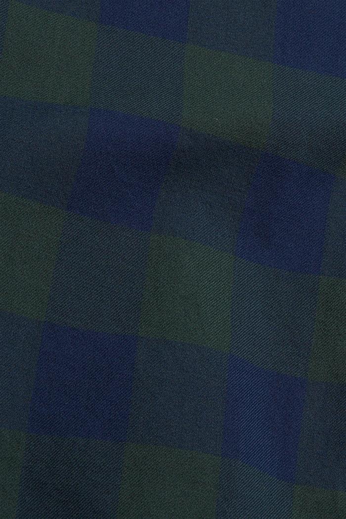 Karohemd aus 100% Baumwolle, TEAL BLUE, detail image number 4