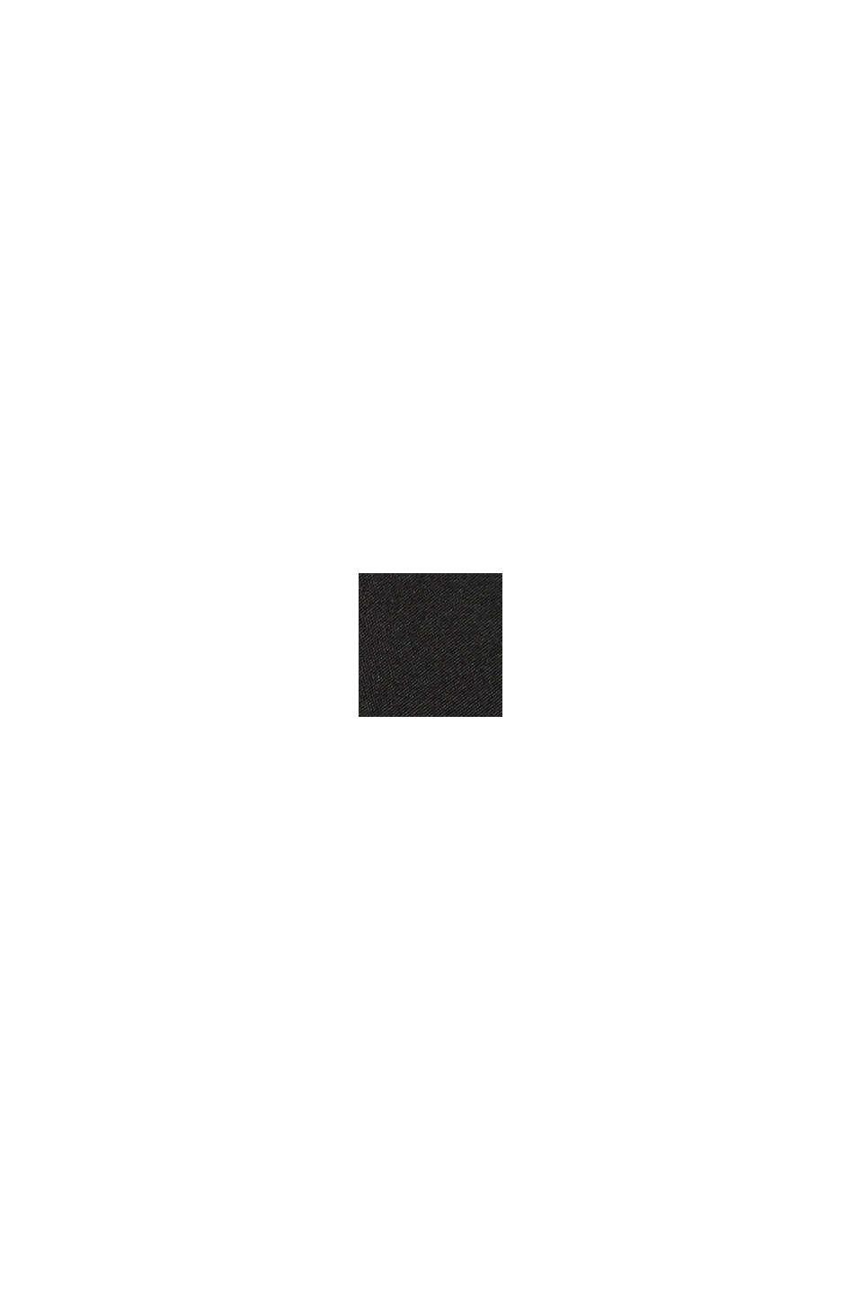 In materiale riciclato: gilet trapuntato, BLACK, swatch