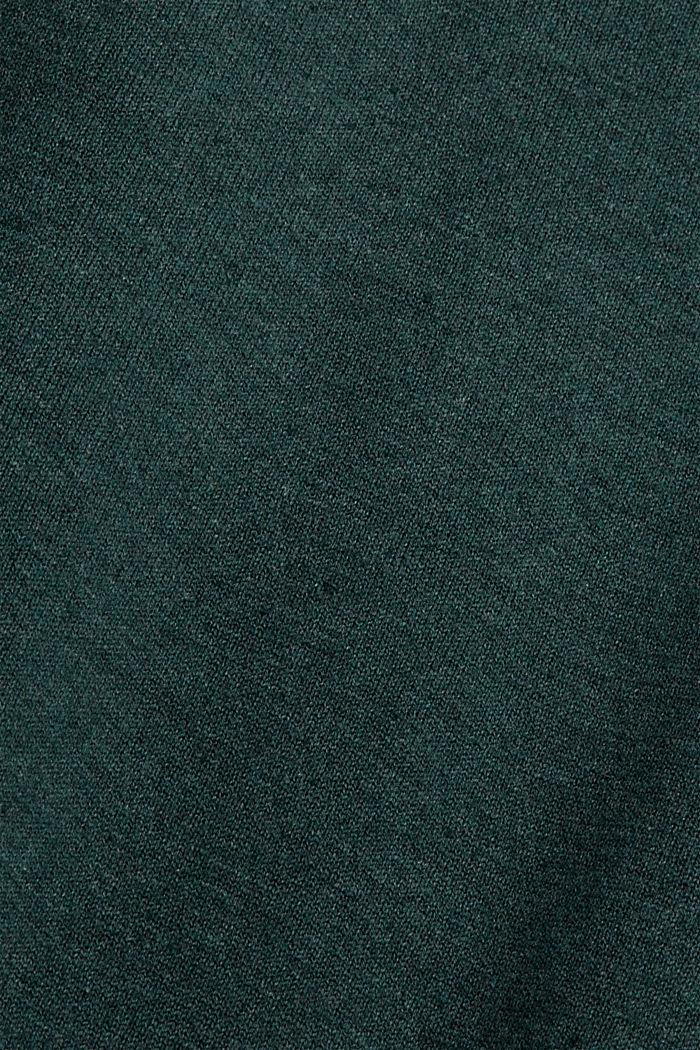 Jumper made of 100% organic cotton, TEAL BLUE, detail image number 4