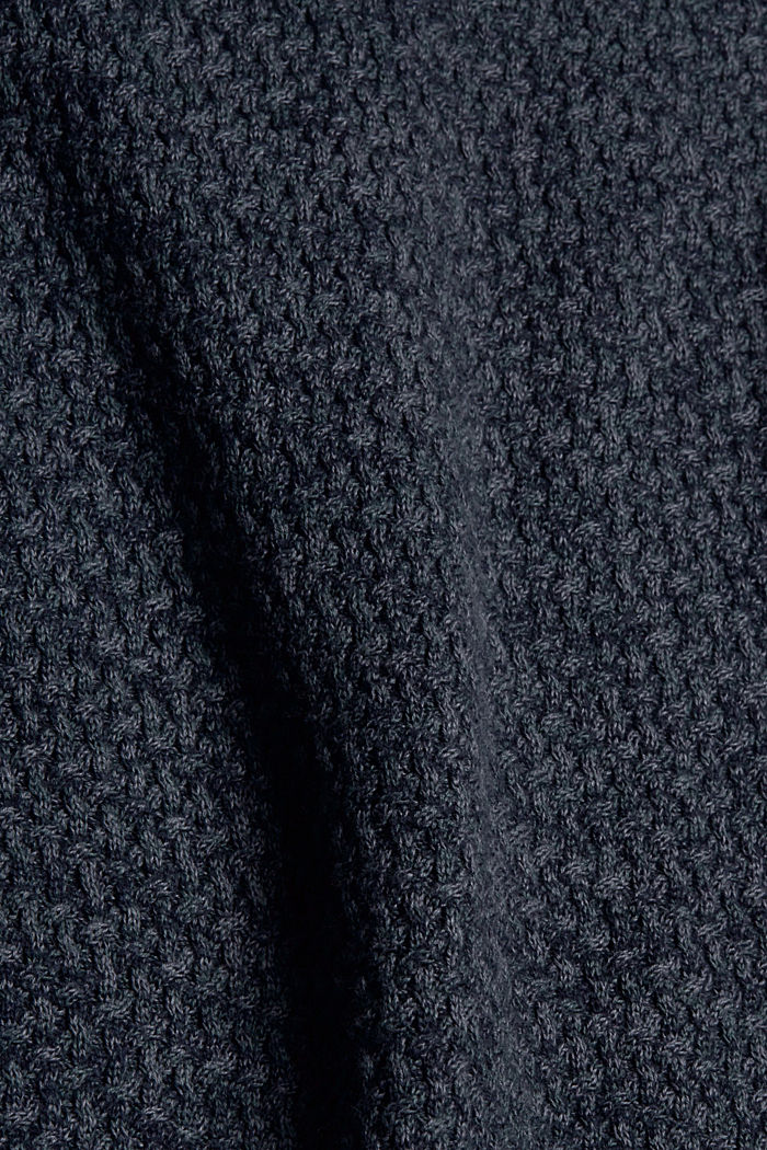 Sweaters, NAVY, detail image number 4
