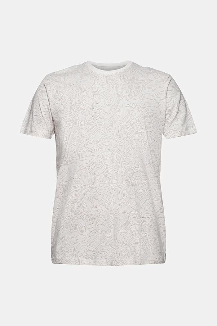 Jersey-T-Shirt mit Print, Organic Cotton, OFF WHITE, detail image number 6