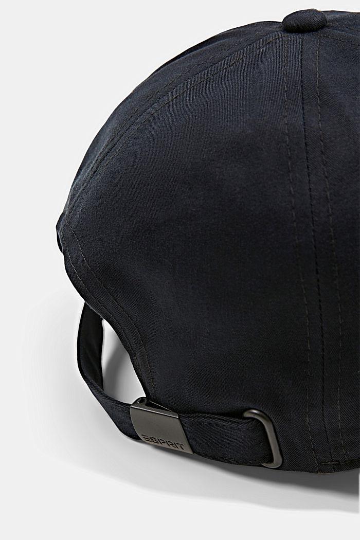 Gorra de béisbol en 100% algodón, BLACK, detail image number 1