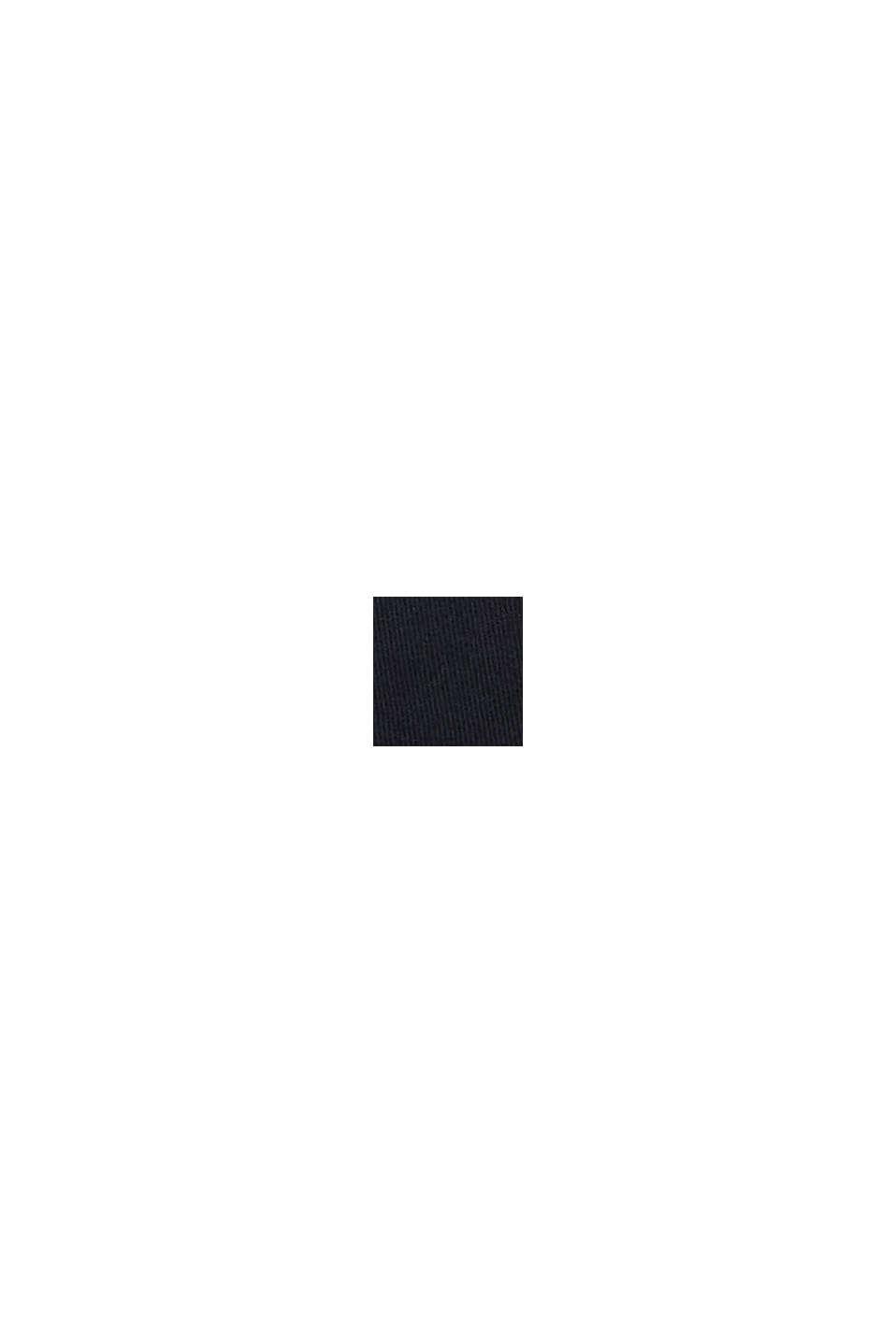 Casquette de baseball en 100% coton, BLACK, swatch