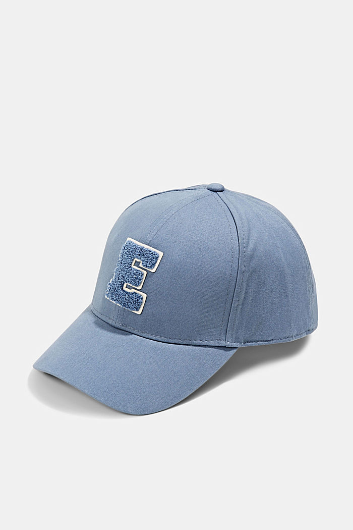 Casquette de baseball en 100% coton, GREY BLUE, detail image number 0