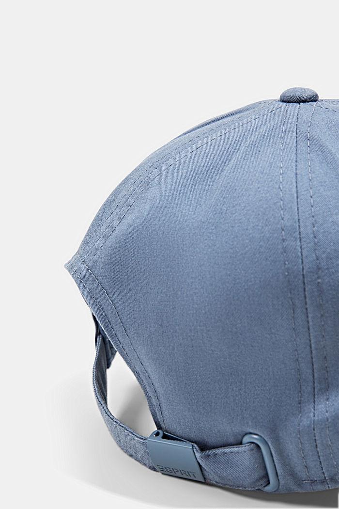 Casquette de baseball en 100% coton, GREY BLUE, detail image number 1
