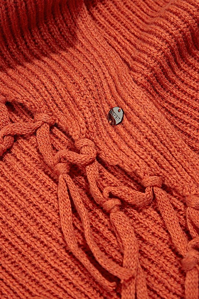 Shawls/Scarves, TERRACOTTA, detail image number 2