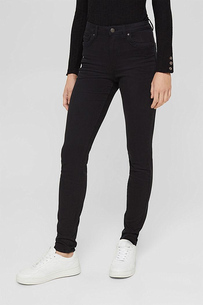 Shaping-Hose mit hohem Bund Organic Cotton, BLACK, detail image number 5