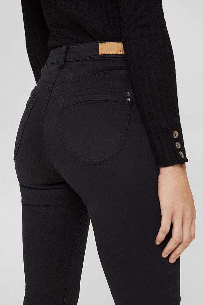 Shaping-Hose mit hohem Bund Organic Cotton, BLACK, detail image number 2