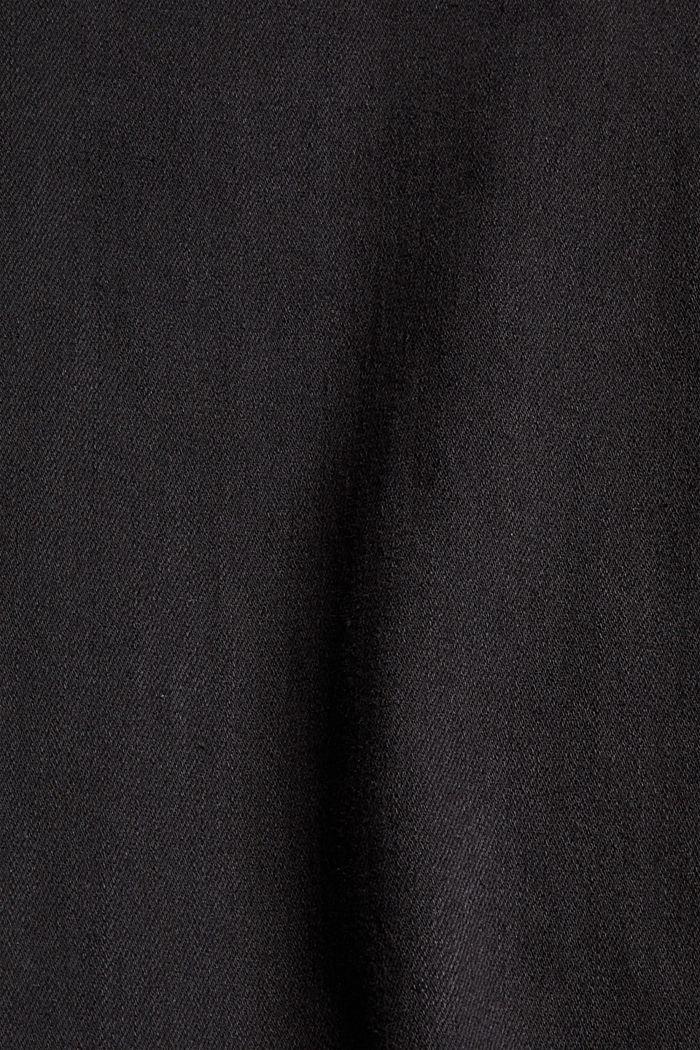 Shaping-Hose mit hohem Bund Organic Cotton, BLACK, detail image number 4