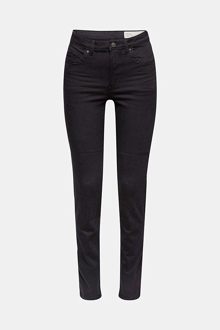Shaping-Hose mit hohem Bund Organic Cotton, BLACK, detail image number 6