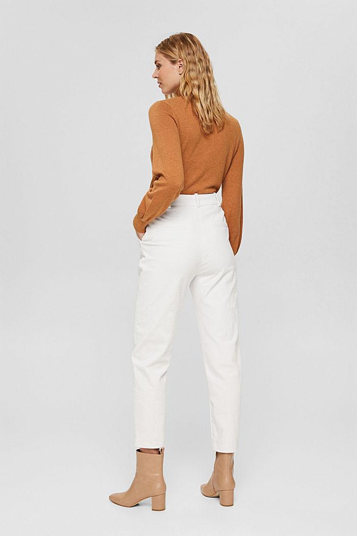 Pantalon en velours côtelé à braguette boutonnée, 100% coton, ICE, detail image number 3
