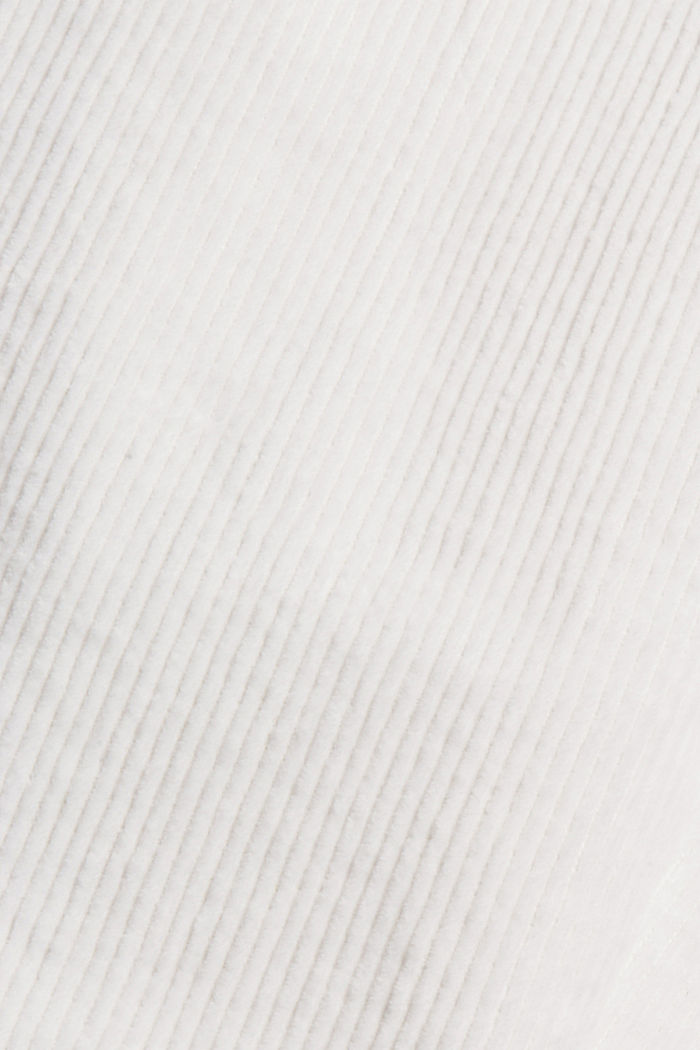 Pantalon en velours côtelé à braguette boutonnée, 100% coton, ICE, detail image number 4