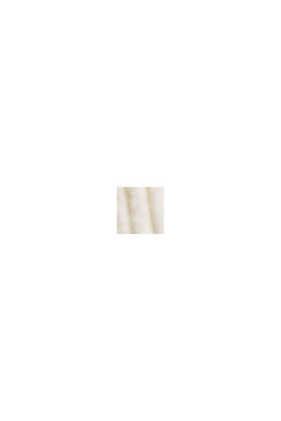 Fløjlsbukser med knappet gylp, i 100% bomuld, OFF WHITE, swatch
