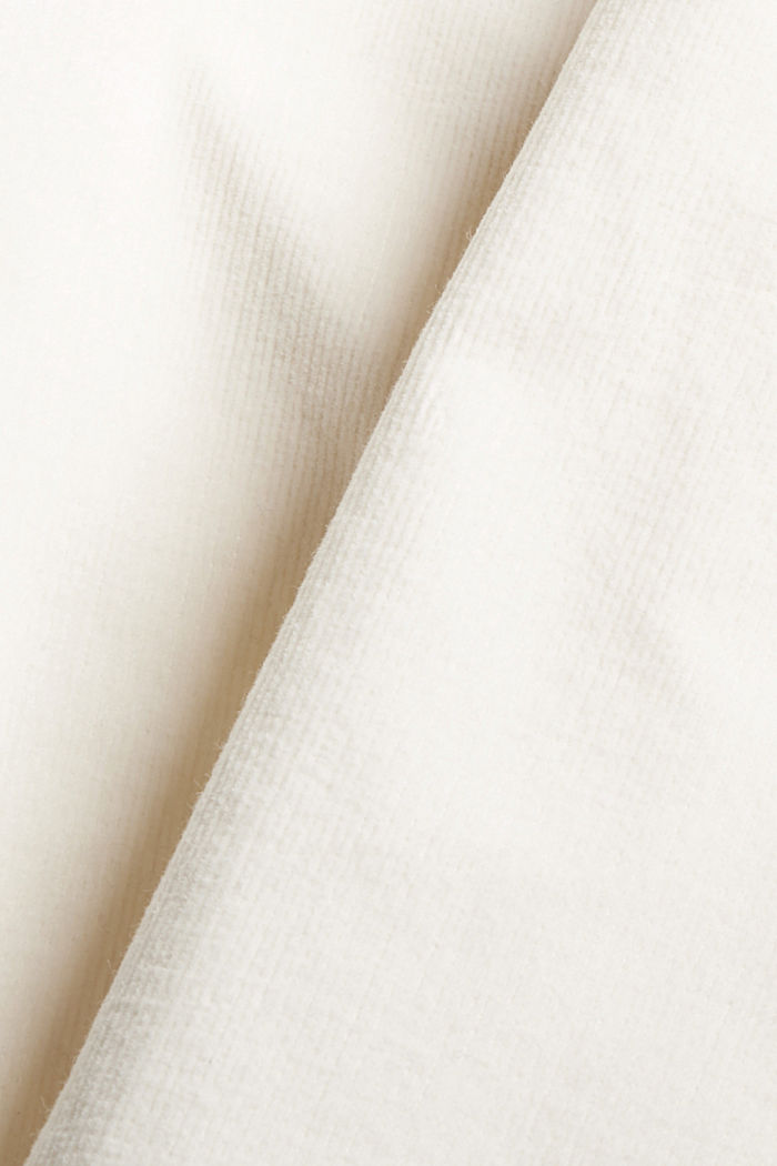 Pull-on-Hose im Chino-Stil aus Feincord, OFF WHITE, detail image number 4