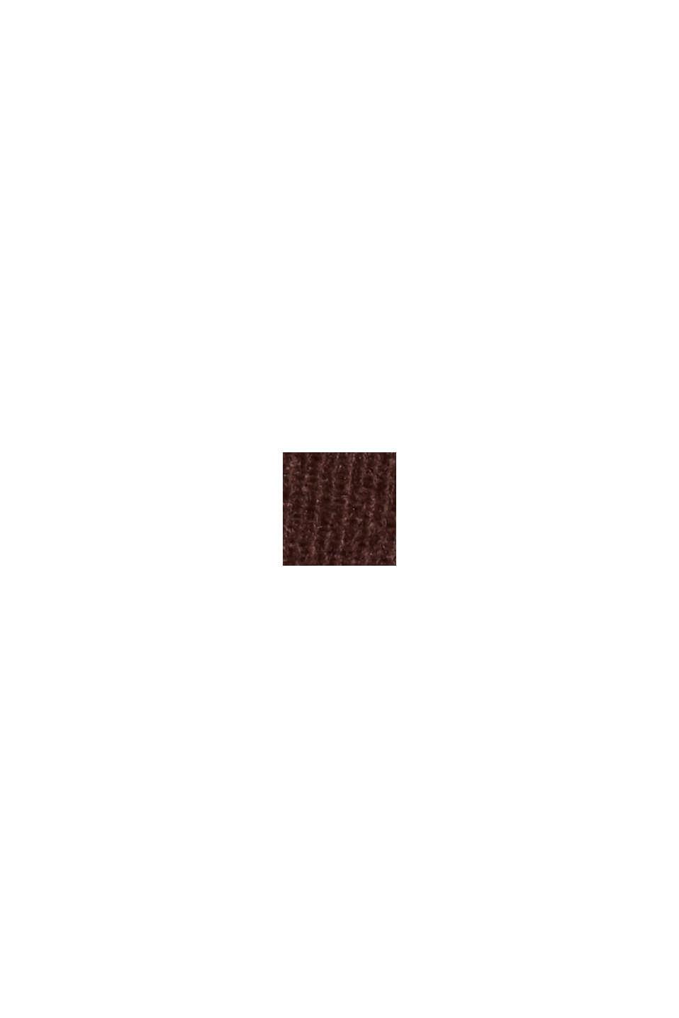 Vakosamettihousut puuvillasekoitetta, RUST BROWN, swatch