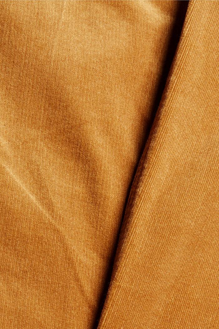 Feincord-Hose aus Baumwoll-Mix, CAMEL, detail image number 4