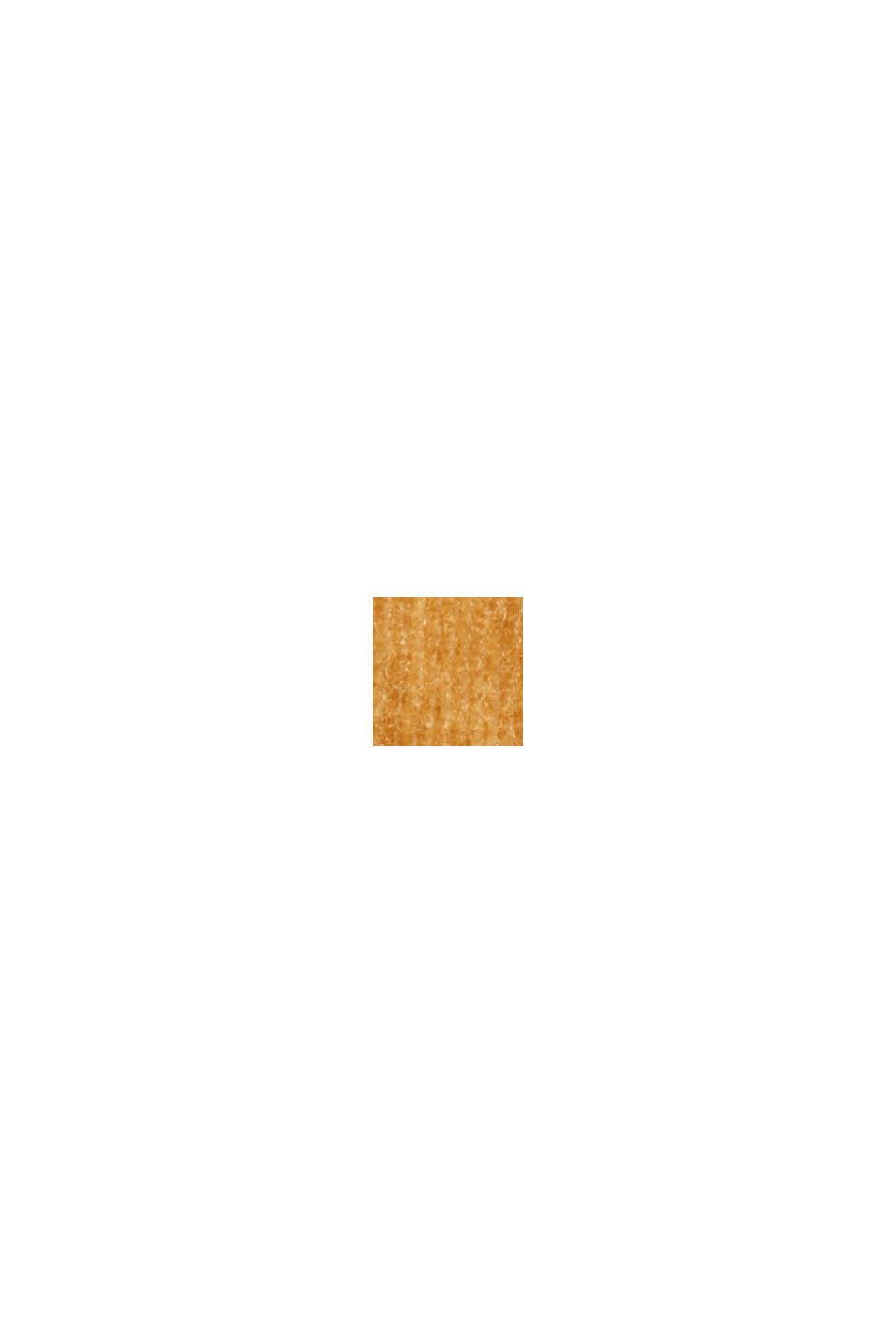 Vakosamettihousut puuvillasekoitetta, CAMEL, swatch