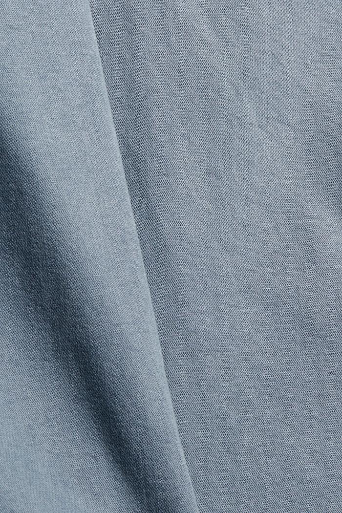 Jean stretch CURVY à détails zippés, GREY BLUE, detail image number 4