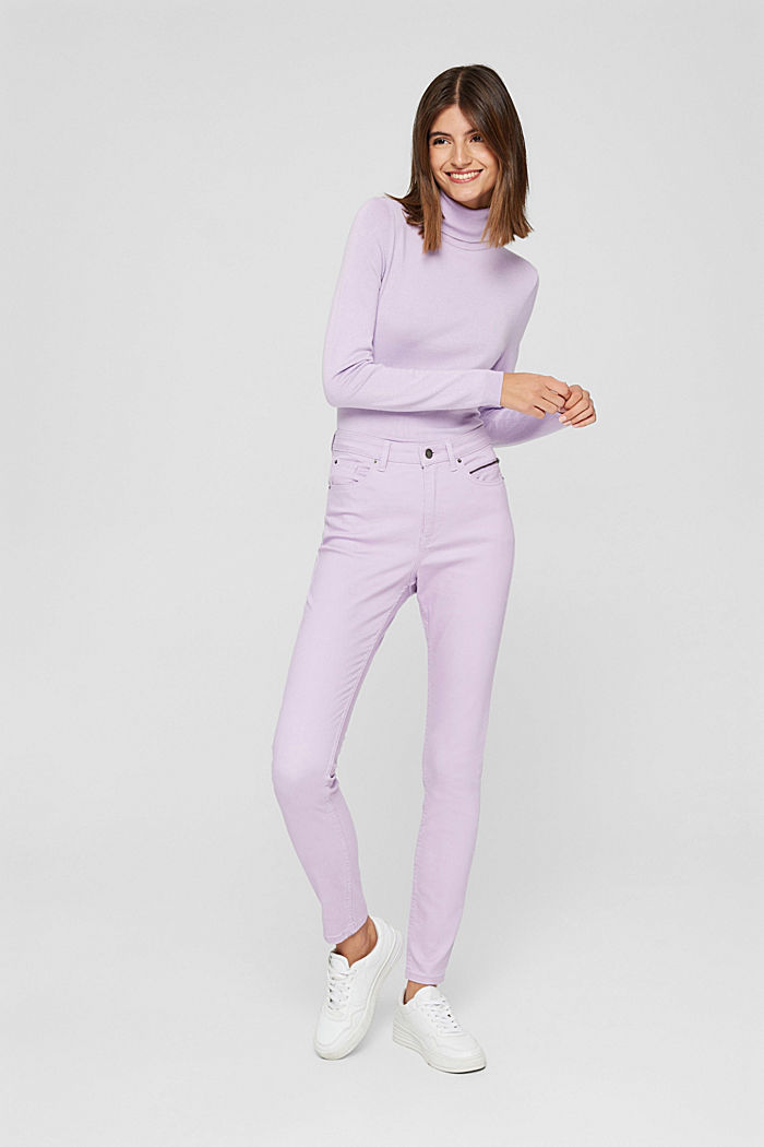Pants woven, LILAC, detail image number 6
