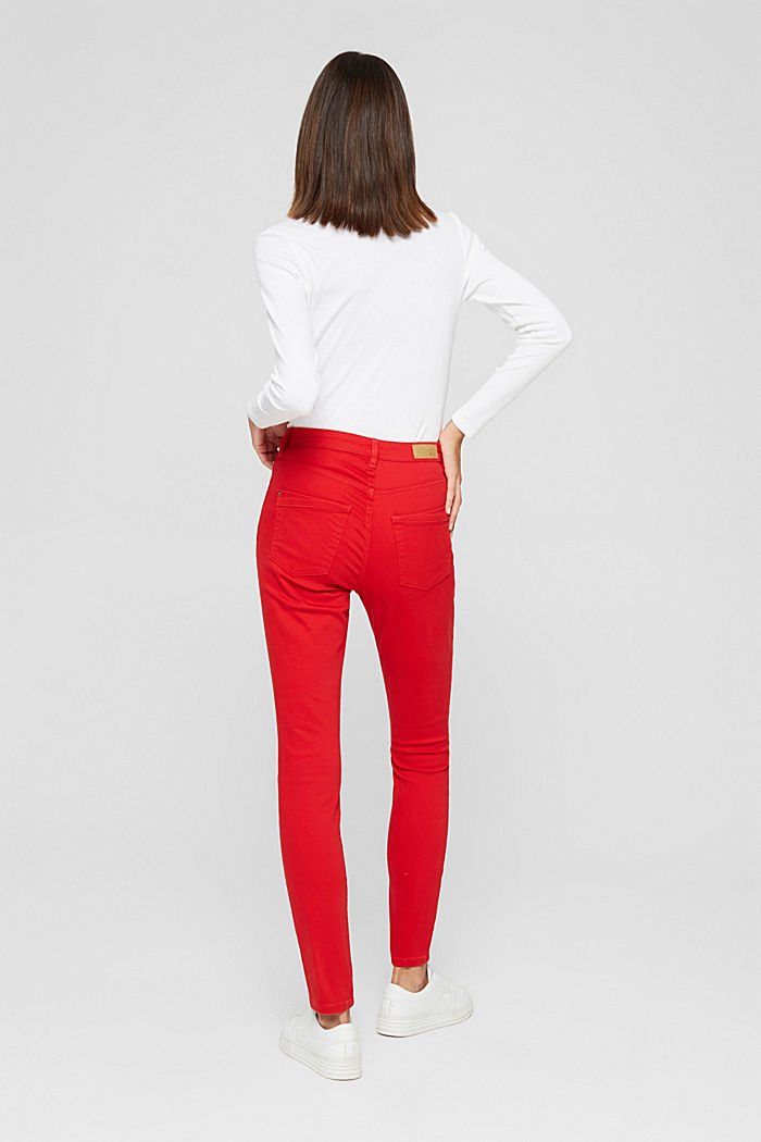 Pants woven, RED, detail image number 3