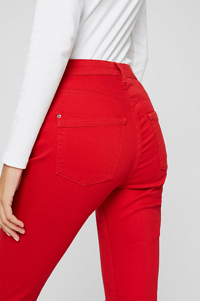Pants woven, RED, detail image number 5