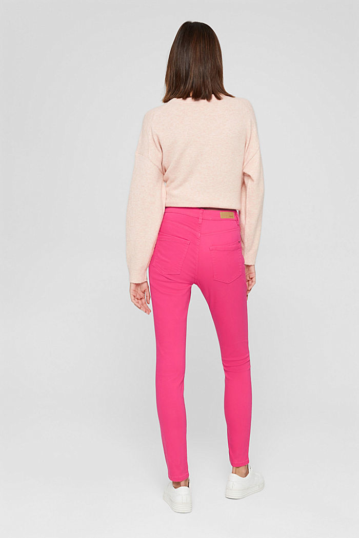 Pants woven, PINK FUCHSIA, detail image number 3