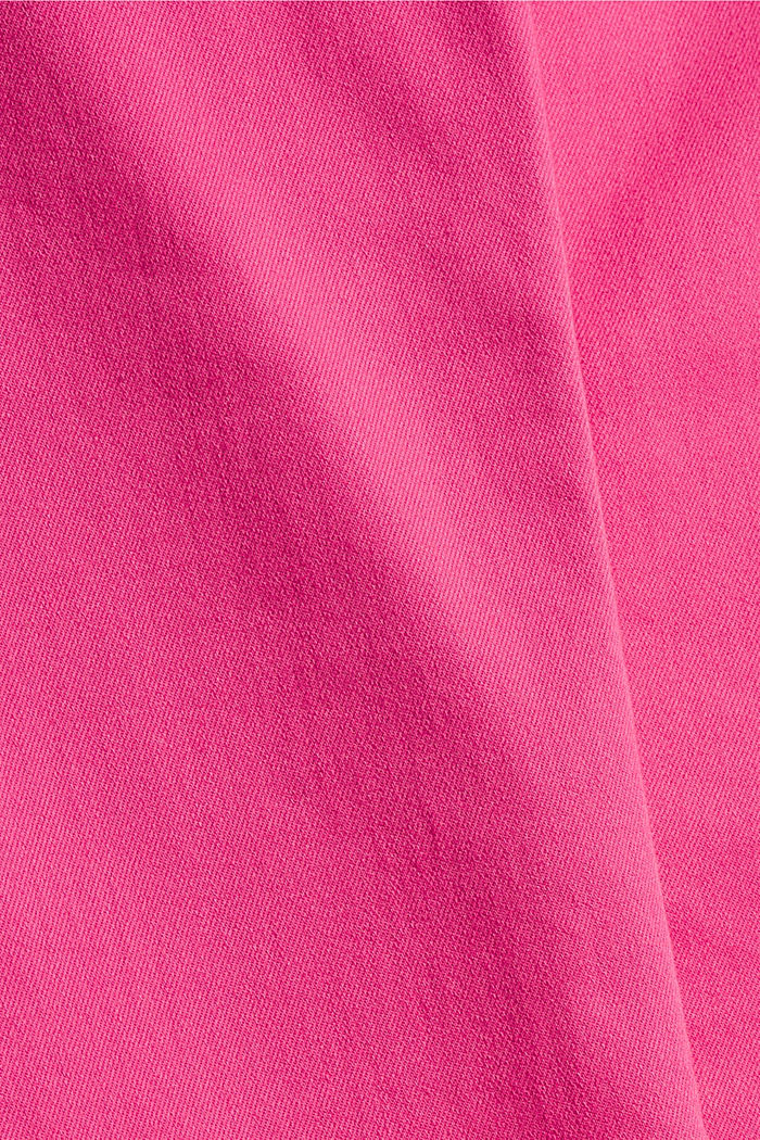 Pants woven, PINK FUCHSIA, detail image number 4