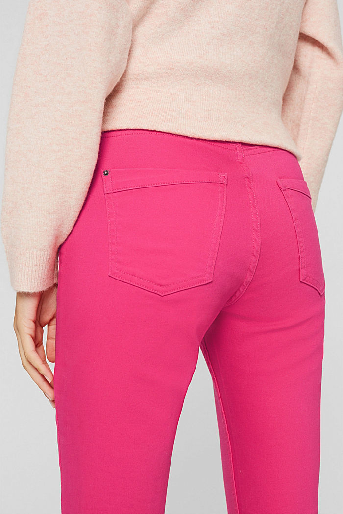 Pants woven, PINK FUCHSIA, detail image number 5